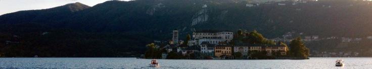 Lago d'Orta viajar en familia