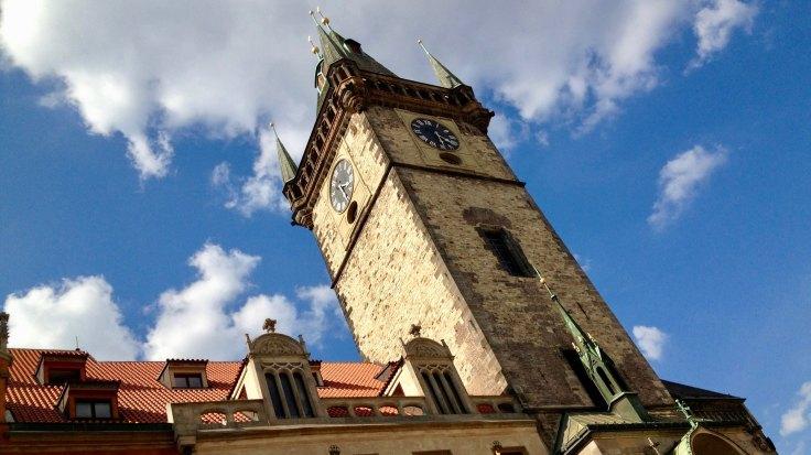 Ciudad vieja Praga viajar con niños