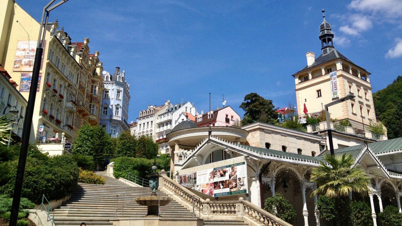 Karlovy Vary viajar con niños