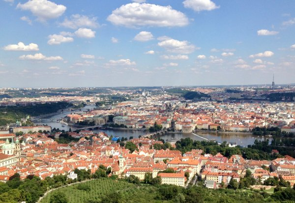 Praga viajar con niños