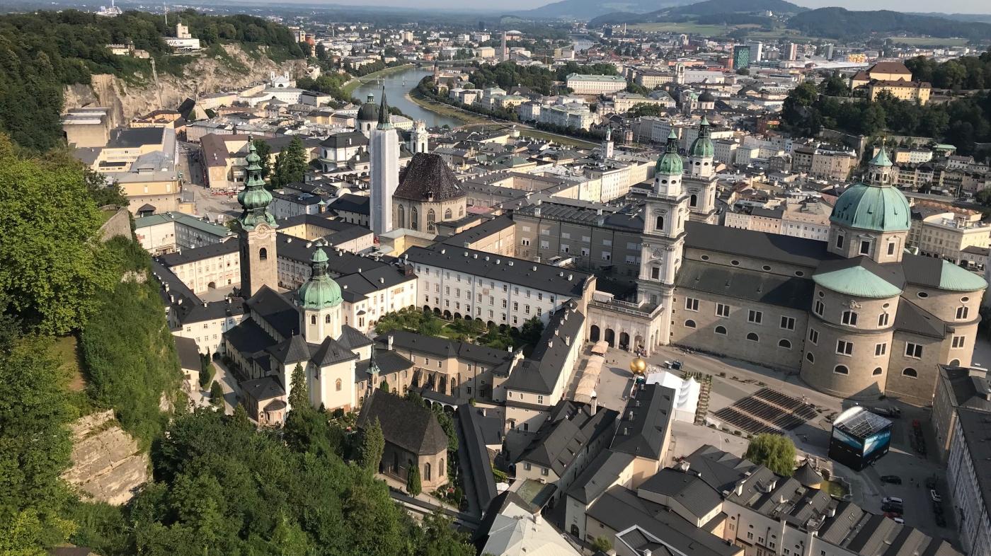 Salzburgo viajar con niños